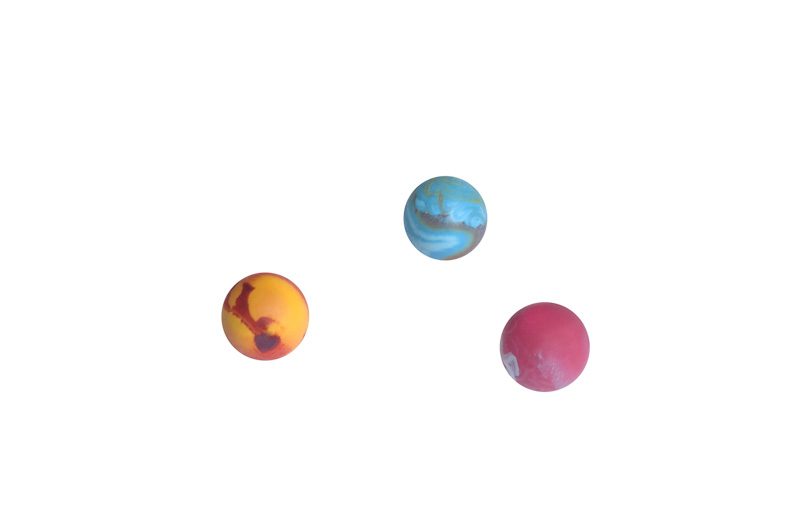 Ball 0 - 3.5cm - scented solid rubber pet toy - dog, cat - Essenti Enterprises, LLC - importer, exporter, supplier, distributor of pet products