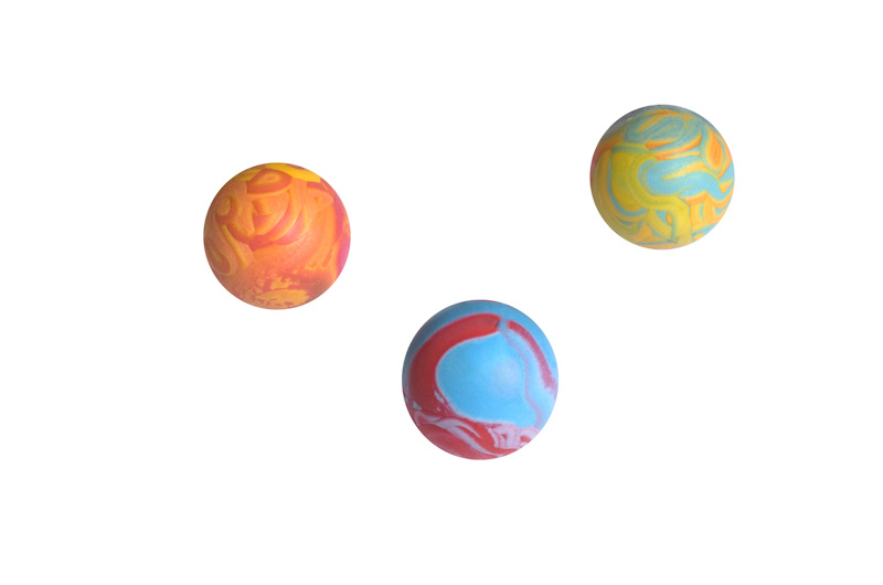 Ball 2 - 6cm - scented solid rubber pet toy - dog - Essenti Enterprises, LLC - importer, exporter, supplier, distributor of pet products