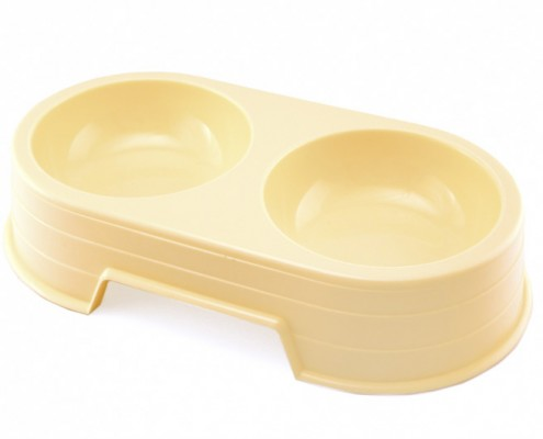 Double Bowl - large - dog, plastic - Essenti Enterprises, LLC - importer, exporter, supplier, distributor of pet products