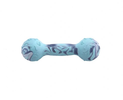 Dumbbell 14cm - scented solid rubber pet toy - dog - Essenti Enterprises, LLC - importer, exporter, supplier, distributor of pet products