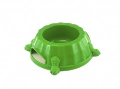 Paw Print Bowl 1 - dog, plastic - Essenti Enterprises, LLC - importer, exporter, supplier, distributor of pet products