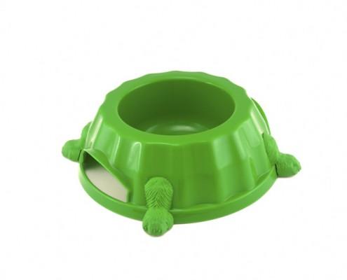 Paw Print Bowl 1 - dog, plastic - Essenti Enterprises, LLC - importer, exporter, supplier, distributor of pet products