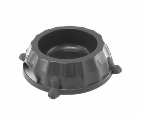 Paw Print Bowl 2 - dog, plastic - Essenti Enterprises, LLC - importer, exporter, supplier, distributor of pet products