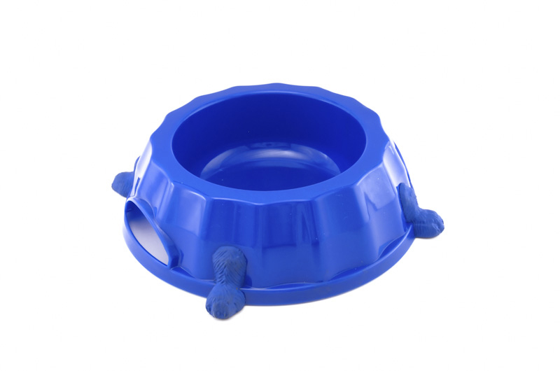 Paw Print Bowl 2 - dog, plastic - Essenti Enterprises, LLC - importer, exporter, supplier, distributor of pet products