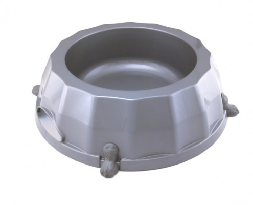Paw Print Bowl 4 - dog, plastic - Essenti Enterprises, LLC - importer, exporter, supplier, distributor of pet products