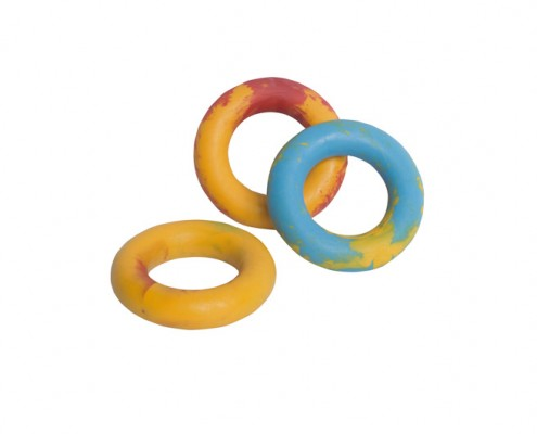 Ring 11cm - scented solid rubber pet toy - dog - Essenti Enterprises, LLC - importer, exporter, supplier, distributor of pet products