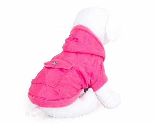Hooded Dog Jacket - KZK1 - quilted - dog clothing, dog apparel, dog clothes - Essenti Enterprises, LLC - importer, exporter, supplier, distributor of pet products