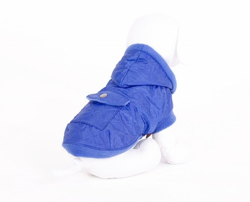 Hooded Dog Jacket - KZK2 - quilted - dog clothing, dog apparel, dog clothes - Essenti Enterprises, LLC - importer, exporter, supplier, distributor of pet products