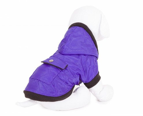 Hooded Dog Jacket - KZK4 - quilted - dog clothing, dog apparel, dog clothes - Essenti Enterprises, LLC - importer, exporter, supplier, distributor of pet products