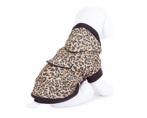 Hooded Dog Jacket - KZK5 - dog clothing, dog apparel, dog clothes - Essenti Enterprises, LLC - importer, exporter, supplier, distributor of pet products