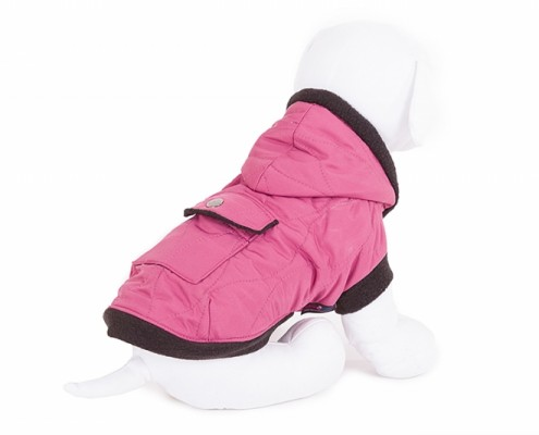 Hooded Dog Jacket - KZK8 - dog clothing, dog apparel, dog clothes - Essenti Enterprises, LLC - importer, exporter, supplier, distributor of pet products
