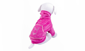 Pet Apparel - Velour sweatshirt with crystals - Pet Clothing Supplies