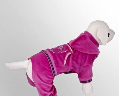 Tracksuit - Bunny - Pink - dog clothing, dog apparel, dog clothes - Essenti Enterprises, LLC - importer, exporter, supplier, distributor of pet products