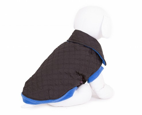 Collar Dog Jacket - KK04 - dog clothing, dog apparel, dog clothes - Essenti Enterprises, LLC - wholesaler, supplier, distributor of pet products