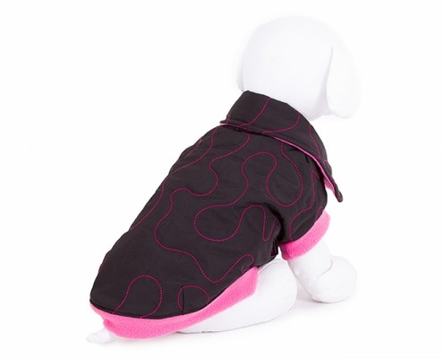 Collar Dog Jacket - KK05 - dog clothing, dog apparel, dog clothes - Essenti Enterprises, LLC - wholesaler, supplier, distributor of pet products