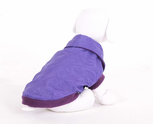 Collar Dog Jacket - KK12 - quilted - dog clothing, dog apparel, dog clothes - Essenti Enterprises, LLC - wholesaler, supplier, distributor of pet products