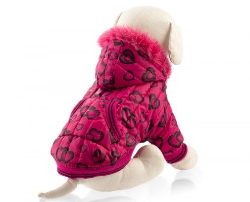 Dog jacket with faux fur - dog apparel, winter dog clothes - Essenti Enterprises, LLC - supplier, wholesale distributor of pet products (2)