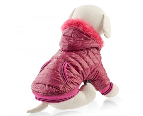 Dog jacket with faux fur - dog apparel, winter dog clothes - Essenti Enterprises, LLC - supplier, wholesale distributor of pet products (3)