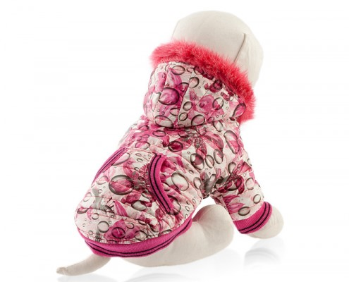 Dog jacket with faux fur - dog apparel, winter dog clothes - Essenti Enterprises, LLC - supplier, wholesale distributor of pet products (4)