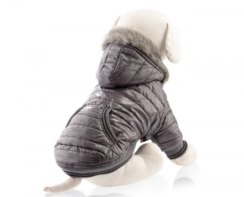 Dog jacket with faux fur - dog apparel, winter dog clothes - Essenti Enterprises, LLC - supplier, wholesale distributor of pet products (6)