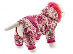 Dog suit with faux fur - dog apparel, fashion winter dog clothes - Essenti Enterprises, LLC - dog supplies, wholesale distributor of pet products (3)