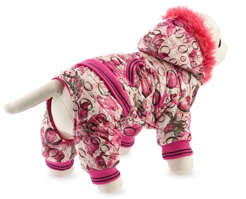 Dog suit with faux fur - dog apparel, fashion winter dog clothes - Essenti Enterprises, LLC - dog supplies, wholesale distributor of pet products (3)