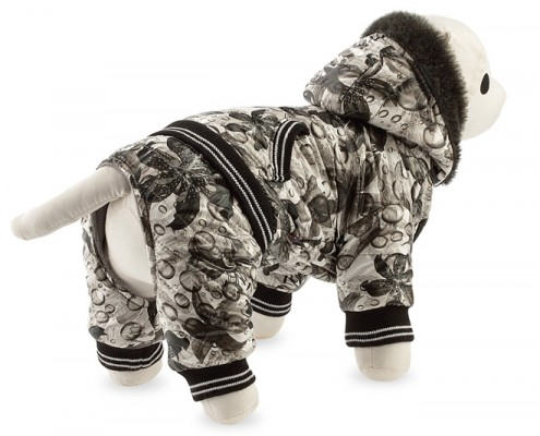 Dog suit with faux fur - dog apparel, fashion winter dog clothes - Essenti Enterprises, LLC - dog supplies, wholesale distributor of pet products (4)