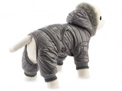 Dog suit with faux fur - dog apparel, fashion winter dog clothes - Essenti Enterprises, LLC - dog supplies, wholesale distributor of pet products (5)