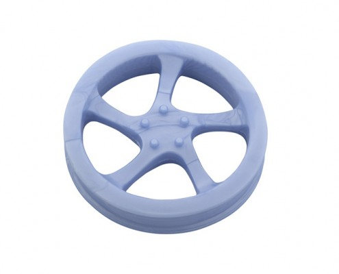 Rim 12.5cm - scented solid rubber pet toy - dog - eco-friendly - floats in water - Essenti Enterprises, LLC - importer, exporter, supplier, distributor of pet products